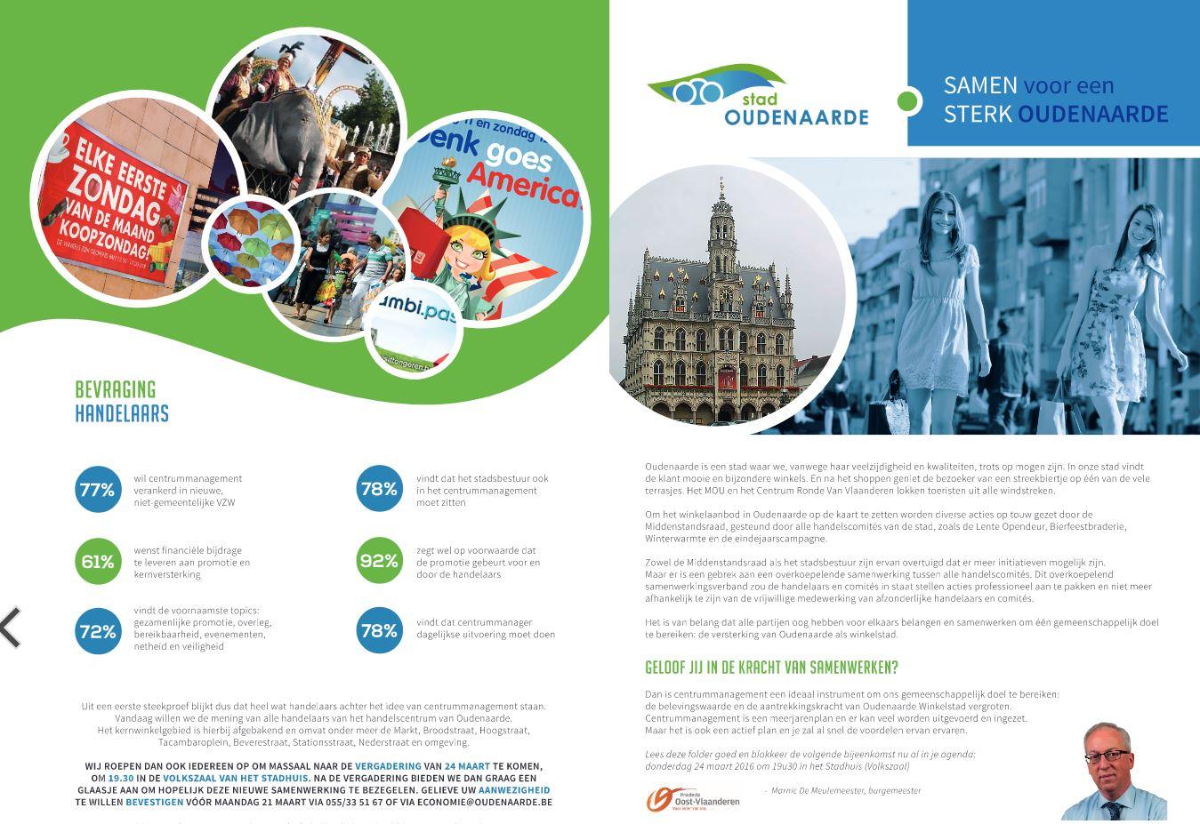centrummanagement Oudenaarde